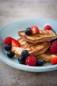 FLUFFY BANANA PANCAKES from The Hairy Dieters Eat for Life