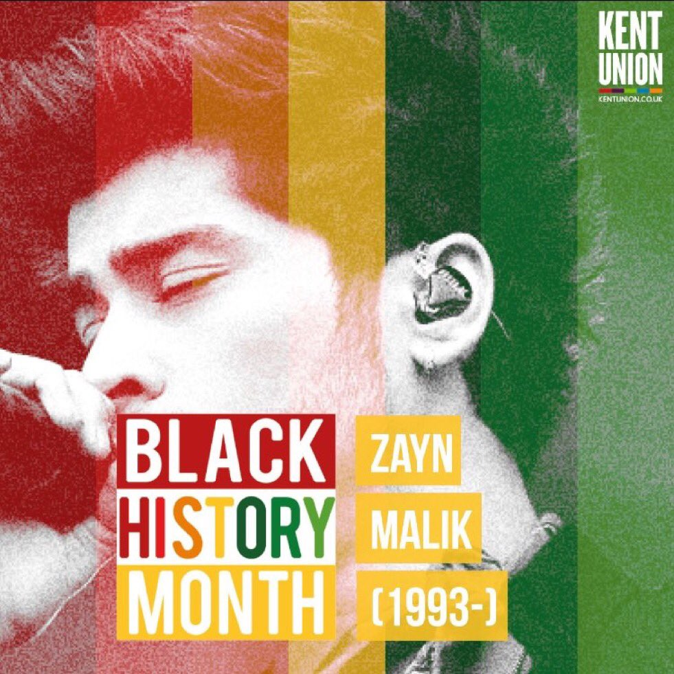 Kent University under criticism as it names Zayn Malik as a face for its Black History Month
