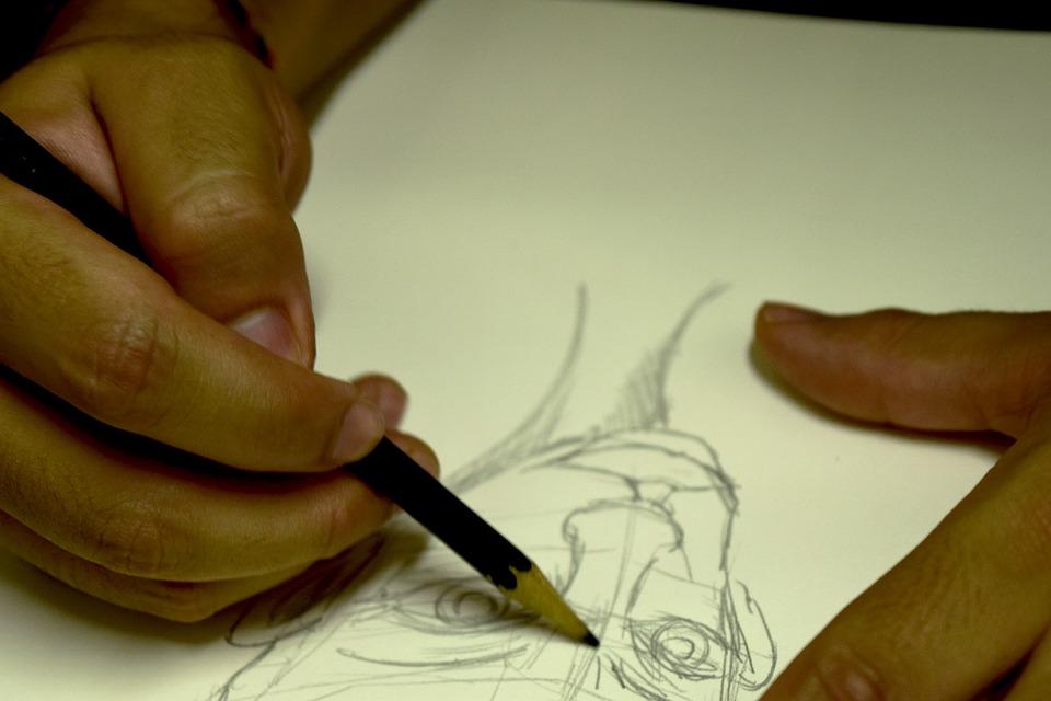 Illustration Design Pencil Sketch Art Drawing