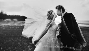 Couple Bridegroom Bride Marriage Love Wedding