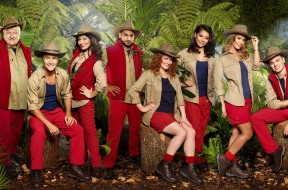 FOR IMMEDIATE USE From ITV Studios  I'm A Celebrity Get Me Out Of Here: SR17 on ITV  Pictured: (L-R) STANLEY JOHNSON, DENNIS WISE, SHAPPI KHORSANDI, AMIR KHAN, JENNIE McALPINE, VANESSA WHITE, REBEKAH VARDY, JACK MAYNARD, GEORGIA TOFFOLO and JAMIE LOMAS  This photograph is (C) ITV Plc and can only be reproduced for editorial purposes directly in connection with the programme or event mentioned above, or ITV plc. Once made available by ITV plc Picture Desk, this photograph can be reproduced once only up until the transmission [TX] date and no reproduction fee will be charged. Any subsequent usage may incur a fee. This photograph must not be manipulated [excluding basic cropping] in a manner which alters the visual appearance of the person photographed deemed detrimental or inappropriate by ITV plc Picture Desk.  This photograph must not be syndicated to any other company, publication or website, or permanently archived, without the express written permission of ITV Plc Picture Desk. Full Terms and conditions are available on the website www.itvpictures.co.uk  For further information please contact: james.hilder@itv.com / 0207 157 3052