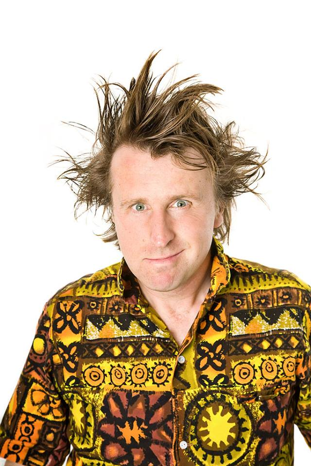 Milton Jones on comedy, touring and shameless shirt choices