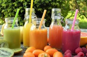Juice Fruits Fruit Healthy Bio Ripe Smoothies