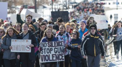 March For Our Lives student protest for gun control @Flickr