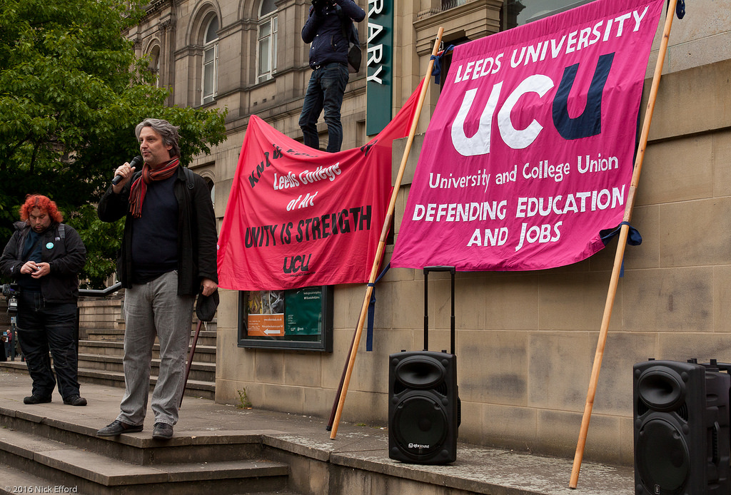 Students are refusing to pay tuition until they are compensated for UCU strike action